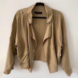 Zara Oversized Safari Crop Jacket